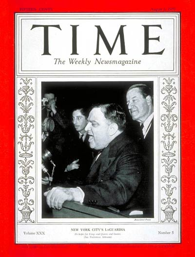 Fiorello La Guardia - TIME