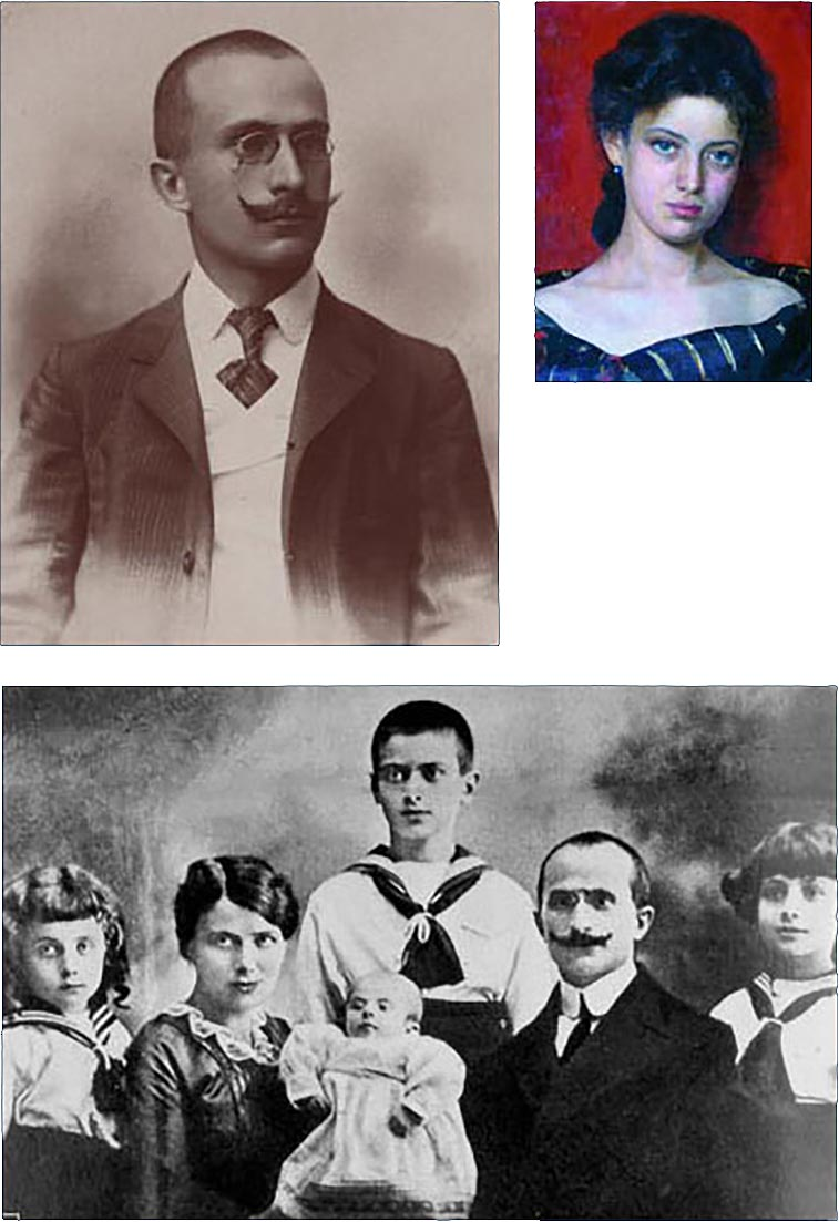 Luigi Einaudi - Famiglia