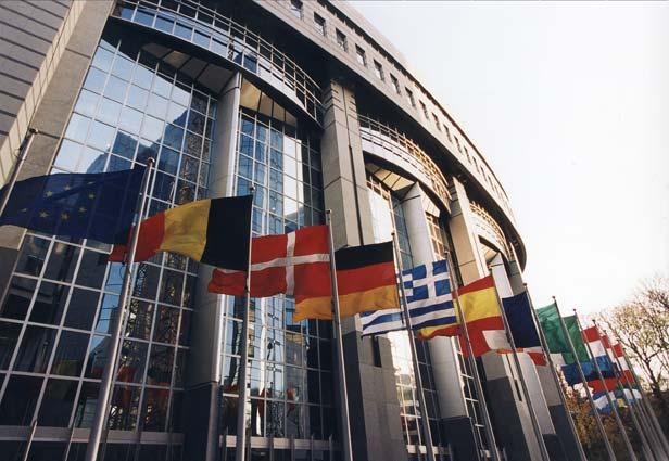 La sede del Parlamento UE a Bruxelles