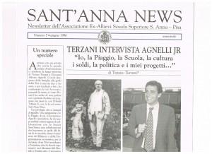 tiziano terzani sant'anna news