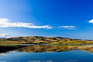 l'Irpinia riflessa: il Lago di Conza