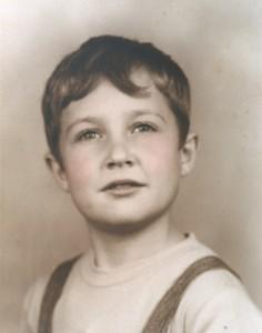 Una foto dall'album di famiglia di Mario Capecchi, nato a Verona nel 1937