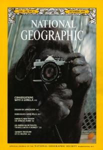 la copertina dell'edizione americana di NG dell'ottobre 1978