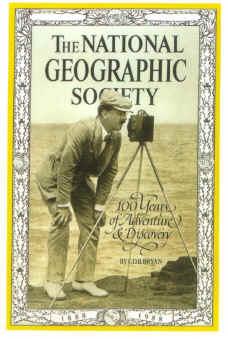 La copertina del National Geographic che nel 1988 celebrava i 100 anni della rivista