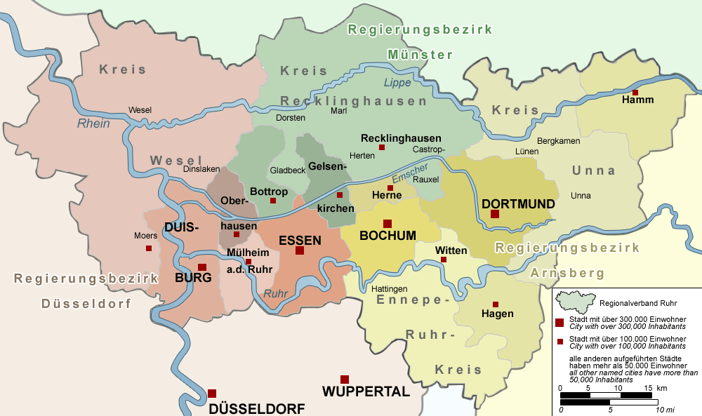 Ruhr-regione-mineraria-tedesca