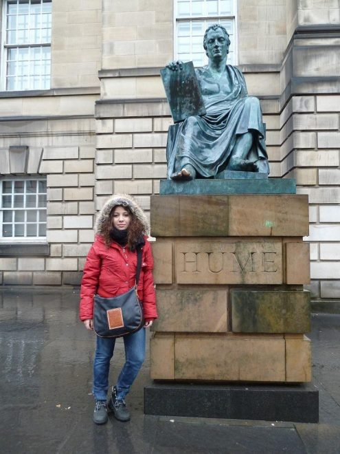 erasmus-scozia-edimburgo-statua-hume