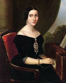 ritratto di Giuseppina Strepponi (c. 1835), oggi conservato al Museo teatrale alla Scala, Milano.
