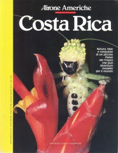 la copertina di Airone Costa Rica, supplemento al numero 134 di Airone