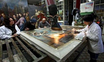 Un gesto nobile per salvare le opere d'arte rovinate dal terremoto dell'Aquila