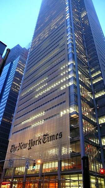 The New York Times Tower