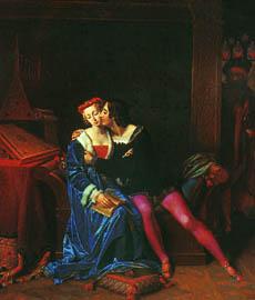 """""""Gli amori funesti di Francesca da Rimini"""" di M.-P. Coupin de La Coupierie"""