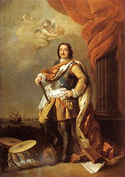 Pietro I Romanov, detto Pietro il Grande