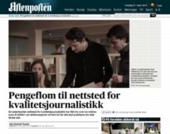 la homepage di De Correspondent