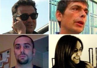 I quattro giornalisti fermati in Siria.