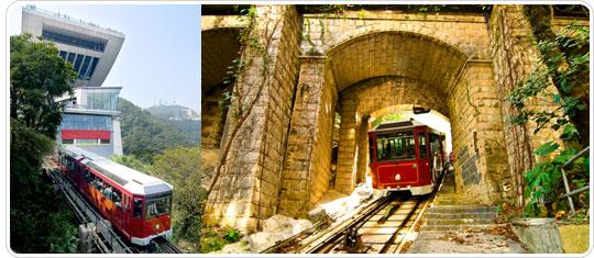 Il Peak Tram (da thepeak.com.hk)