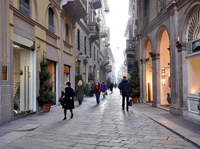 Via della Spiga a Milano