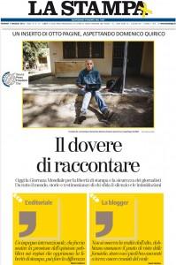 La Stampa, 3 maggio 2013