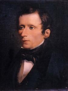 Giacomo Leopardi in un ritratto di Domenico Morelli