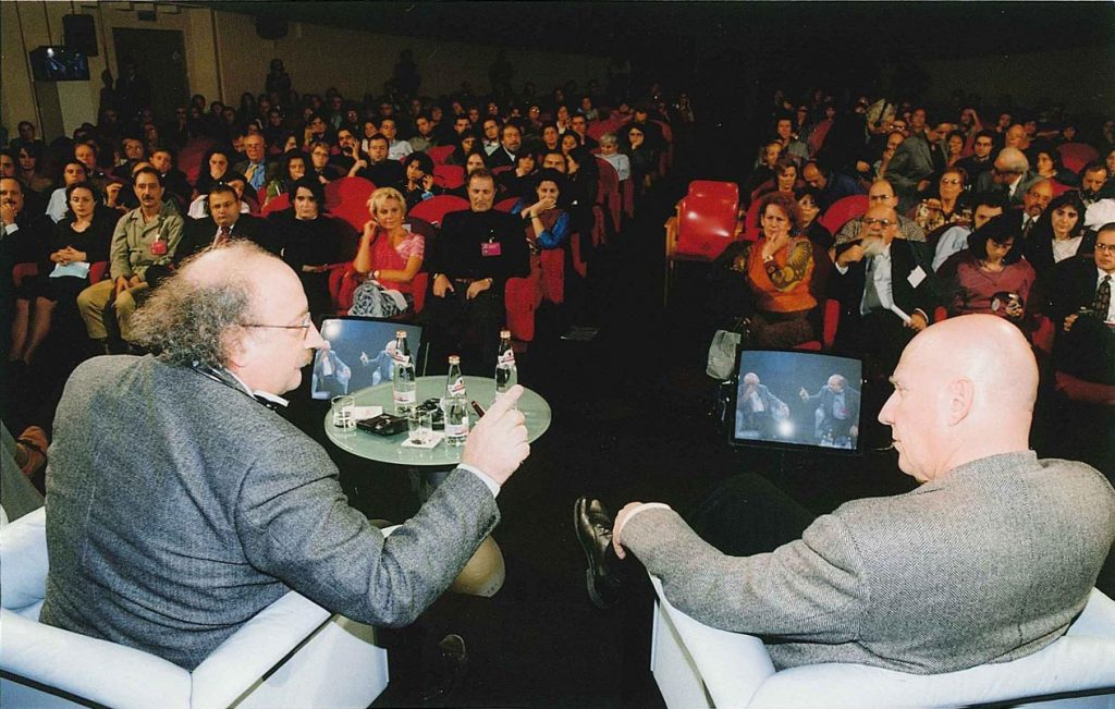 Rimini, 2000 - Sebastiao Salgado con Salvatore Giannella