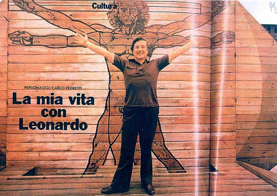 Rossana e Carlo Pedretti: <br />le loro vite nel segno <br />di quel genio di Leonardo