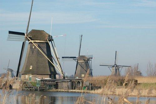 Mulini a vento a Kinderdijk