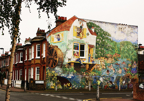 Brixton Mural (foto di Stephanie Sadler, Flickr)
