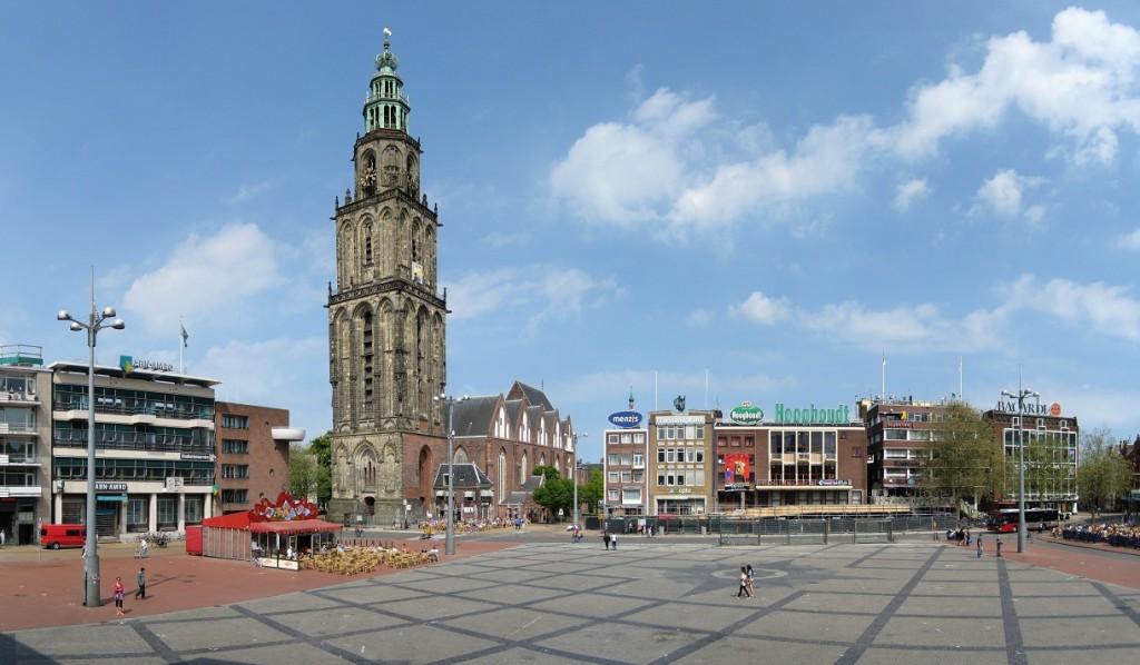 Groningen: piazza Grote Markt