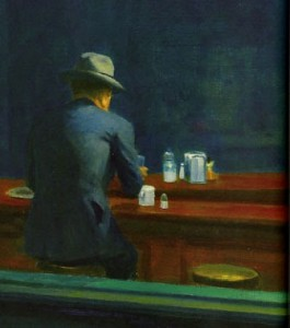 Nighthawks di Edward Hopper
