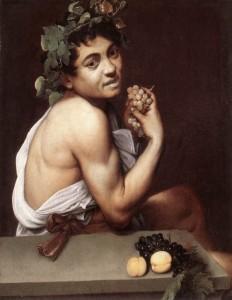 Bacco secondo Caravaggio (Galleria Borghese)