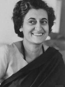Indira Priyadarshini Gandhi (Allahabad, 1917 – Nuova Delhi, 1984)