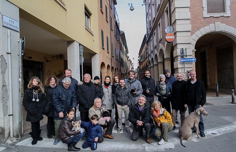 Benvenuti a Bologna <br />nella prima strada della solidarietà