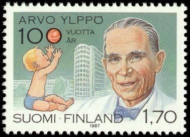 arvo-yippo-pediatra-finlandia-francobollo