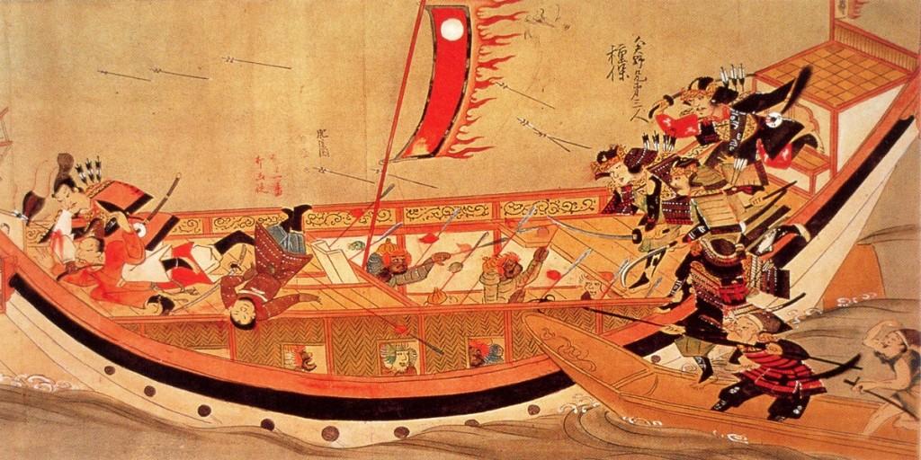 flotta-kubilai-khan-Emakimono