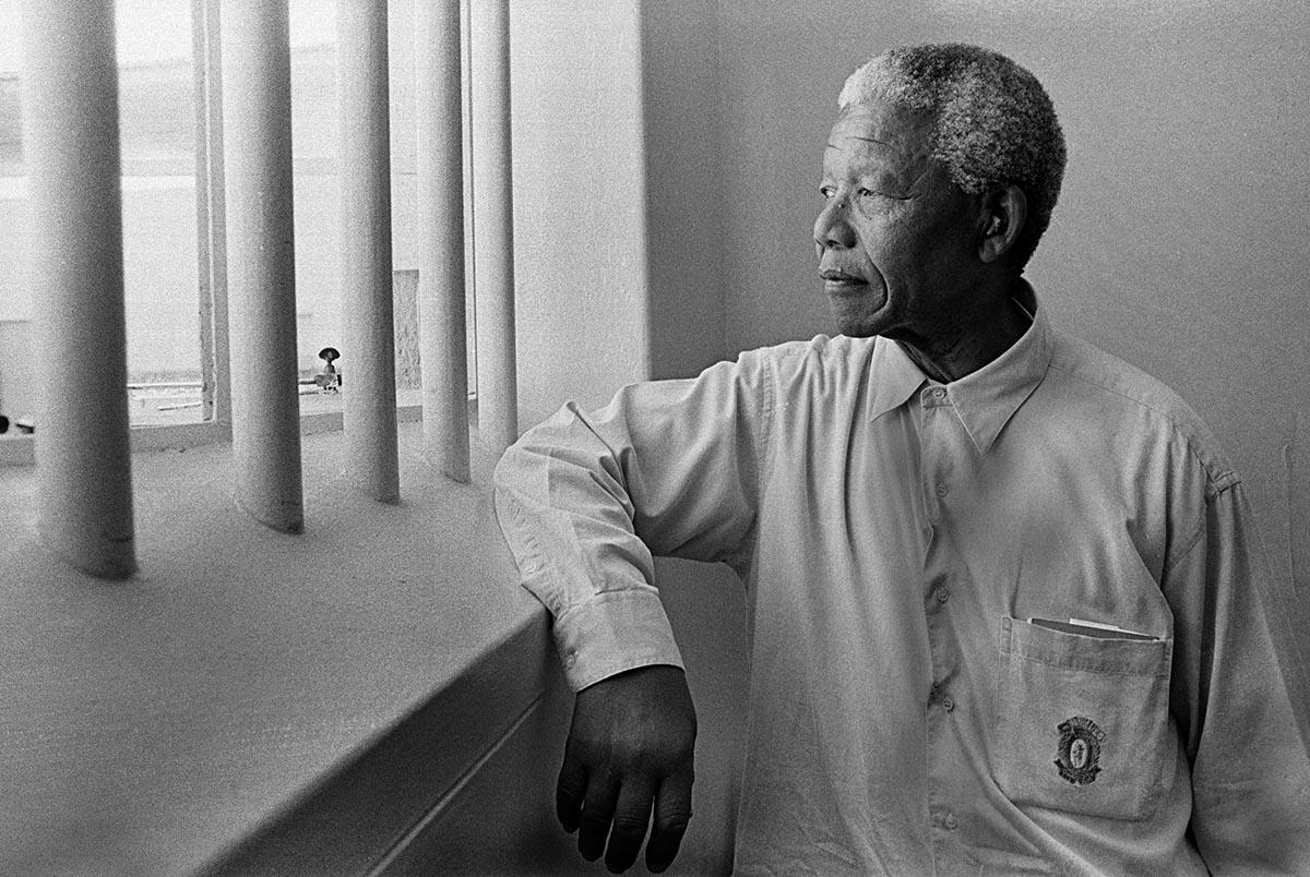 Ciao Mandela, ti ricordiamo con la poesia <br />che leggesti ogni giorno <br />nella tua cella