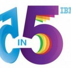 Cinque previsioni per i prossimi cinque anni. Parola di IBM