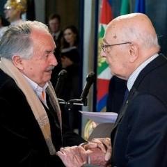 Nel giorno dell'addio di Napolitano, riecco il poetico grazie di Tonino Guerra al custode della nostra Costituzione