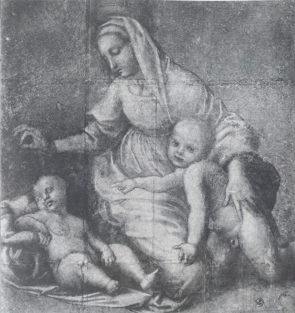 tesori-rubati-da-hitler-Raffaello-Madonna-con-bambino-e-San-Giovannino