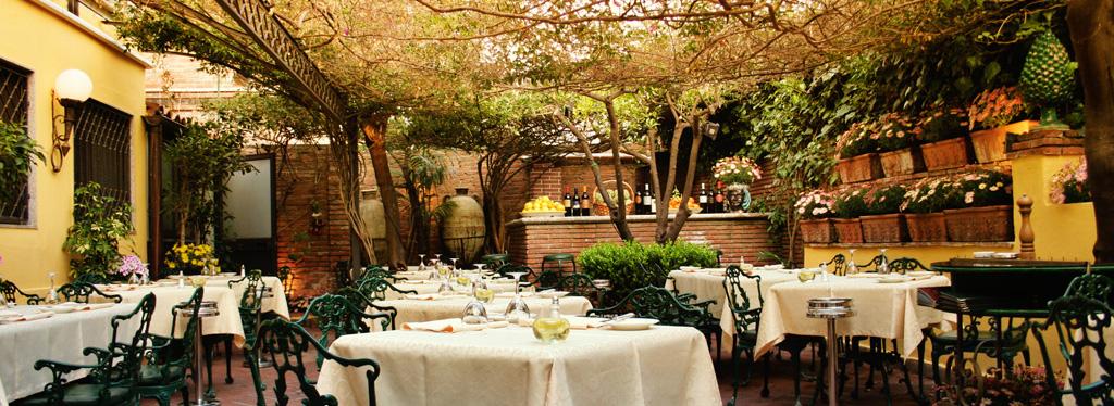 I 50 migliori ristoranti all 39 aperto di milano e uno - Trattoria con giardino milano ...