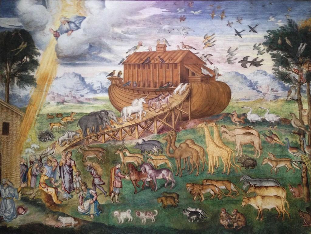 affreschi-bernardino-luini-monastero-san-maurizio-milano-romana-medievale