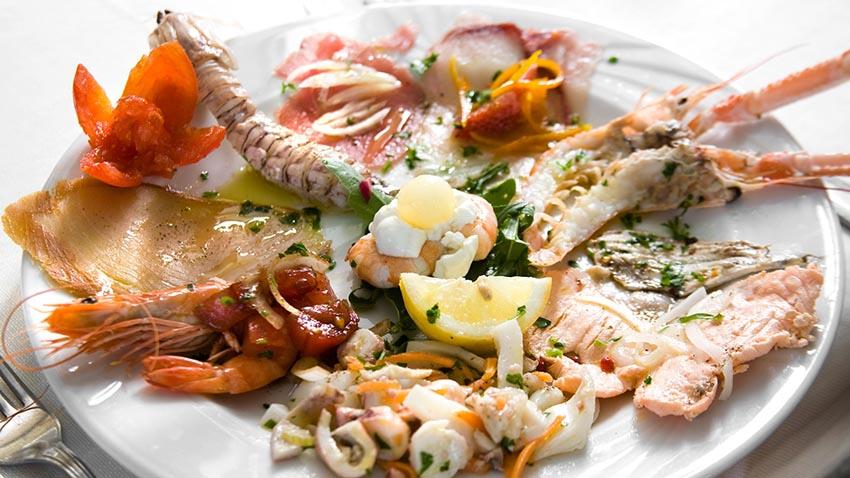 I 50 migliori ristoranti di pesce <br />a Milano