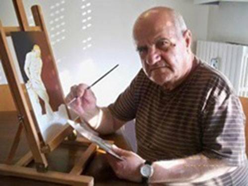 Nella Troia dauna fondata da Diomede <br />c'è un artista presepista: Tonino Cibelli