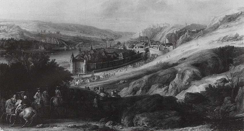 Luigi-XIV-che-passa-Reno-Adam-Frans-van-der-Meulen-opere-trafugate-toscana