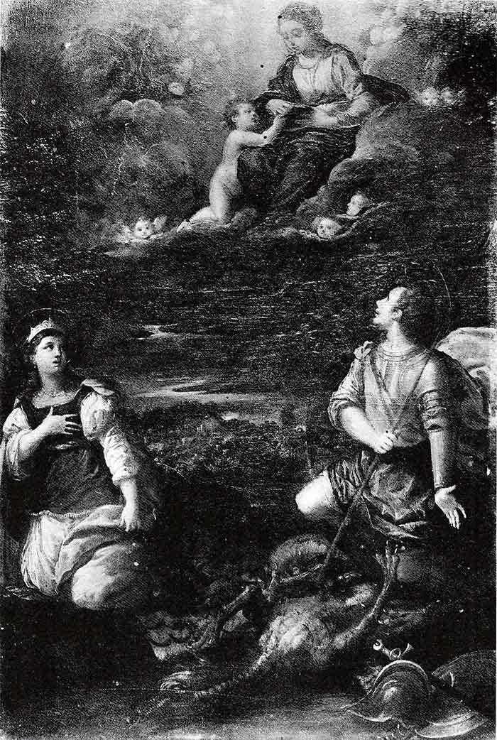 Madonna-con-Santi-Giorgio-Margherita-Scarsellino-opere-trafugate-toscana