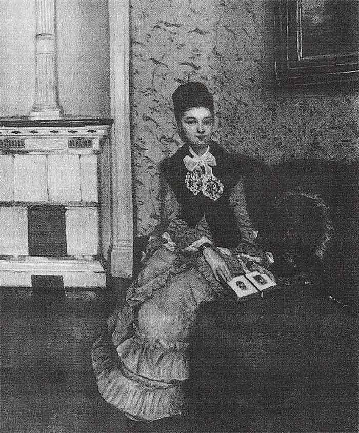 Signora-che-legge-Giovane-signora-sul-divano-Serafino-De-Tivoli-opere-trafugate-toscana
