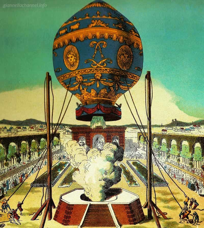 storia-donne-aviazione-Montgolfier-1783