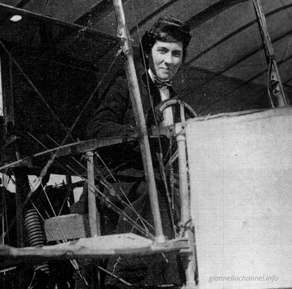 storia-donne-aviazione-Thérèse-Peltier-Torino-1908