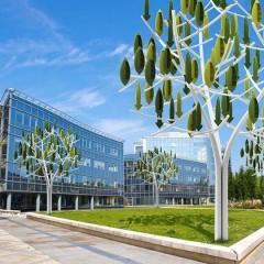 L'albero che produce energia eolica