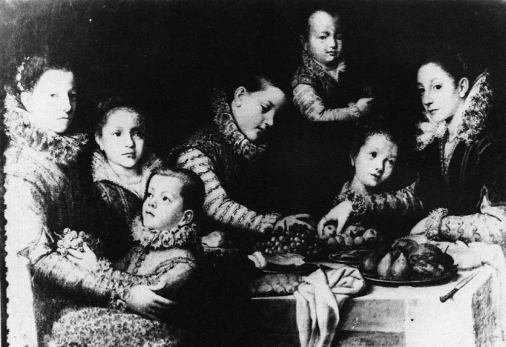 fanciulli-intorno-tavola-sofonisba-anguissola-collezione-wanda-de-grolee-virville-firenze