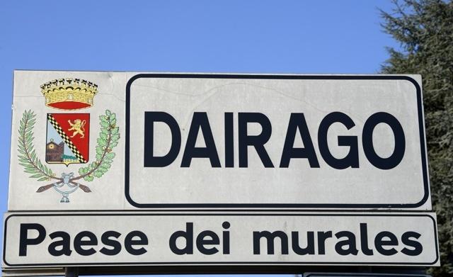 Eccoci a Dairago, Paese dei murales. L'unico nella provincia di Milano.
