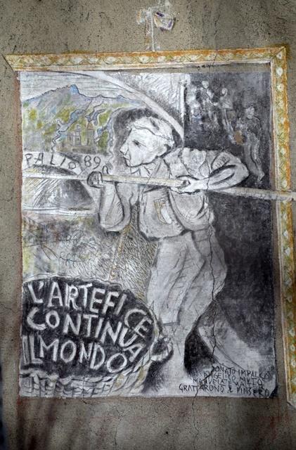 'L'artefice continua il mondo', di Walter Cervi, Palio delle Contrade 1989.